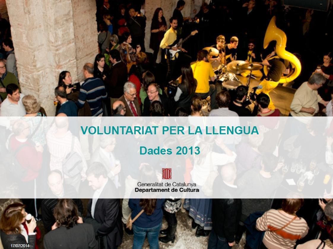 El Voluntariat per la llengua ha impulsat 10.208 parelles lingüístiques el 2013
