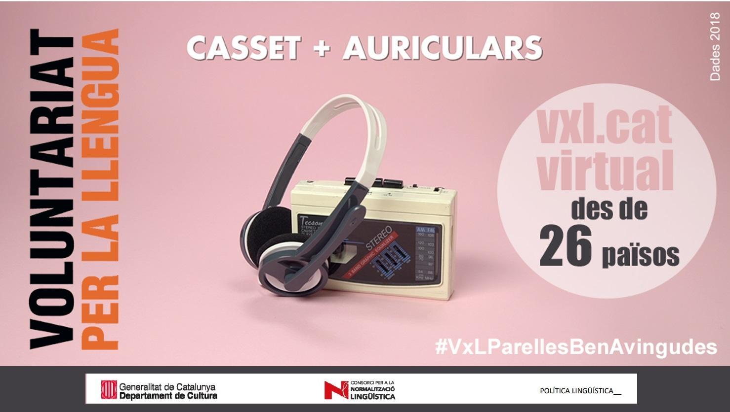 605 persones conversen en català durant el 2018 des de 26 països gràcies a la modalitat virtual del VxL