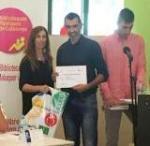 Jordi Bonet, premiat al 27è Premi de Narrativa Breu d'Artesa de Segre