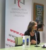 Neus Nogué presenta la nova <em>Gramàtica de la llengua catalana</em>