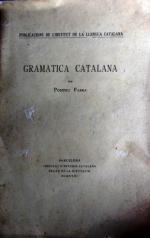 S'albiren canvis. S'acosta la Gramàtica de la llengua catalana, de l'Institut d'Estudis Catalans