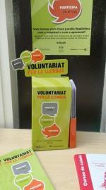 Noves urnes d'inscripció del Voluntariat per la llengua