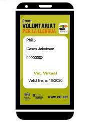 Nou carnet de VxL per als participants en la modalitat virtual