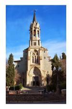 Visita a l'Església Major amb els Amics del Museu Torre Balldovina