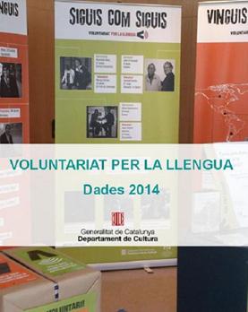 El Voluntariat per la llengua ha impulsat 10.189 parelles lingüístiques el 2014