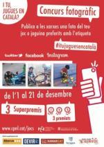 Concurs fotogràfic 'I tu, jugues en català?'