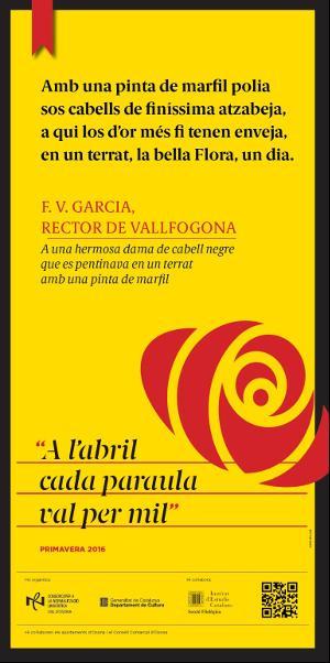 """4a edició de la campanya """"A l'abril cada paraula val per mil"""" (CNL Osona)"""