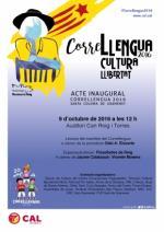 Acte inaugural del Correllengua 2016