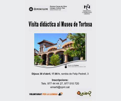 Visita didàctica al Museu de Tortosa i a la col·lecció permanent