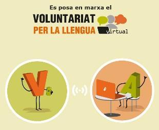 Neix el Voluntariat per la llengua virtual