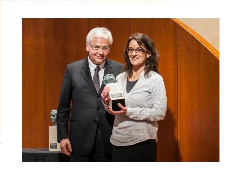 Ileana Belfiore, una voluntària de Sant Cugat, guanyadora del premi Pompeu Fabra a la integració a la comunitat lingüística catalana