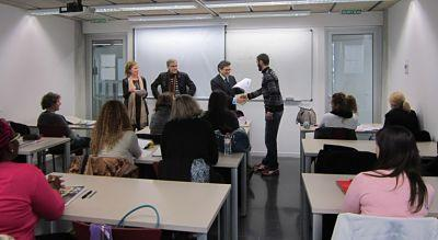 Apren.cat, cursos de català per al SOC