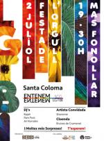 1a Festa de l'orgull LGTBI de Santa Coloma