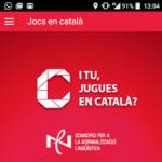 Jocs en català des del mòbil