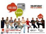 El Voluntariat per la llengua celebra les 100.000 parelles lingüístiques