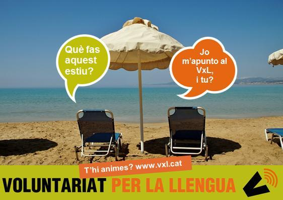 El Voluntariat per la llengua no s'atura a l'estiu