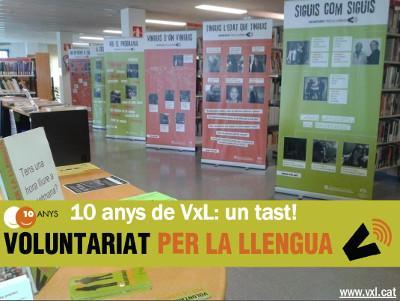 """""""10 anys de VxL: un tast!"""" recorre Catalunya"""