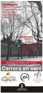 Per Sant Jordi, els carrers de Torroella de Montgrí tornen a omplir-se de versos