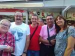 Participants del VxL de Santa Coloma a la Setmana del Llibre en Català