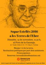 Nova edició del Sopar Estellés a les Terres de l'Ebre
