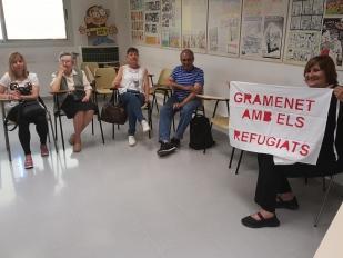 Parlem sobre els refugiats a les classes de català