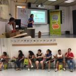 Presentem el CNL L'Heura i el VxL a joves de Grameimpuls