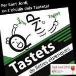 Nova edició del llibre 'Tastets de lletres ebrenques 2015'