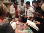 Roses: jocs de llengua i intercanvi de llibres