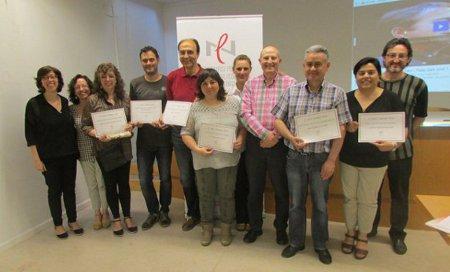 Acte de lliurament dels premis dels Jocs Florals 2015