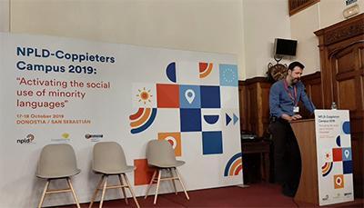 Presents al Campus 2019 de la Xarxa Europea per la Diversitat Lingüística