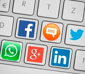 Com redactem missatges a les xarxes socials?