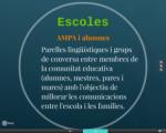 Inauguració del taller per a mares i pares a l'escola Parc de les Aigües de Figueres