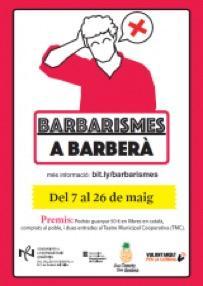 Concurs lingüístic Barbarismes a Barberà (CNL Vallès Occidental 3)