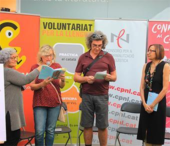 El CPNL participa a la Setmana del Llibre en Català