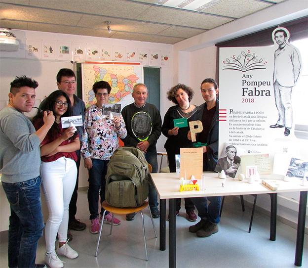 La maleta pedagògica de Fabra a Santa Coloma de Gramenet