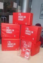 Campanya de promoció dels jocs i joguines en català