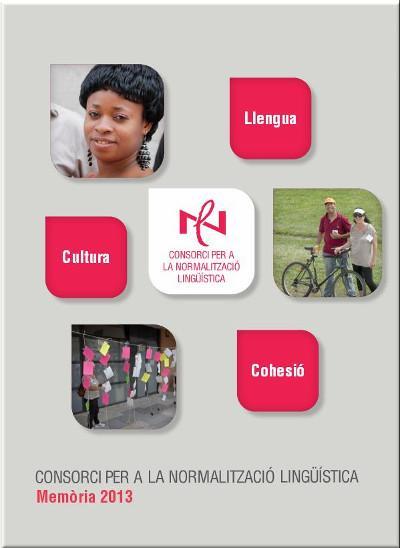 Memòria 2013 del Consorci per a la Normalització Lingüística