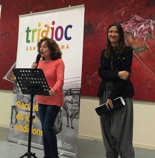 Presentació del Triajoc en els actes de Memòria Històrica 2018