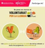 Neix el Voluntariat per la llengua virtual!